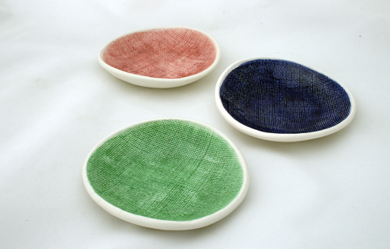 hessian small bowls