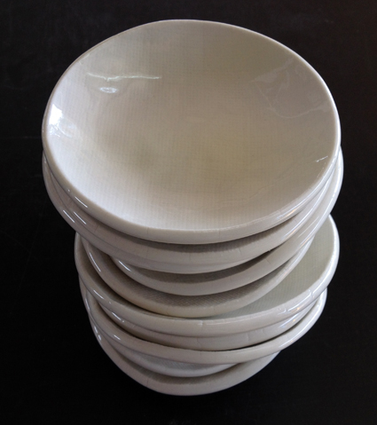 More bowls for Peter Gordon & News - Factory Ceramics Waiheke - Ceramic Tableware Handmade in NZ
